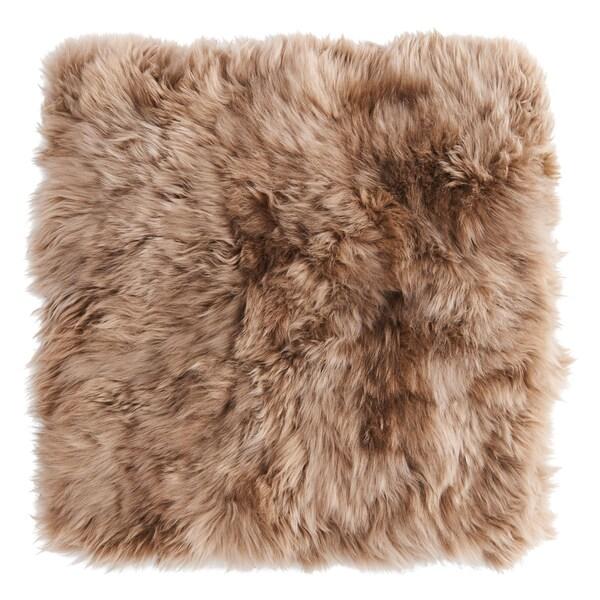 SKOLD Housse de coussin, peau de mouton/beige, 50x50 cm