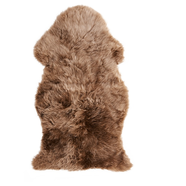 SKOLD Peau de mouton, beige, 90 cm