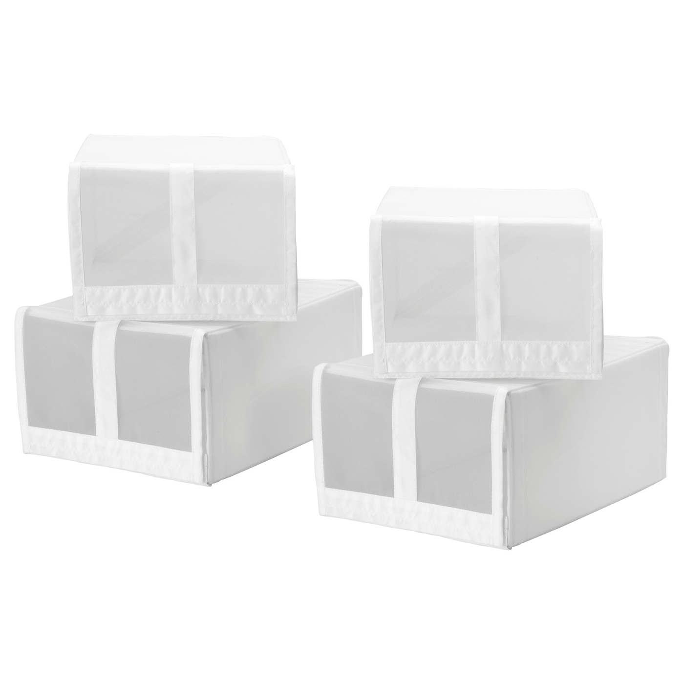 skubb boîte à chaussures blanc 22 x 34 x 16 cm - ikea