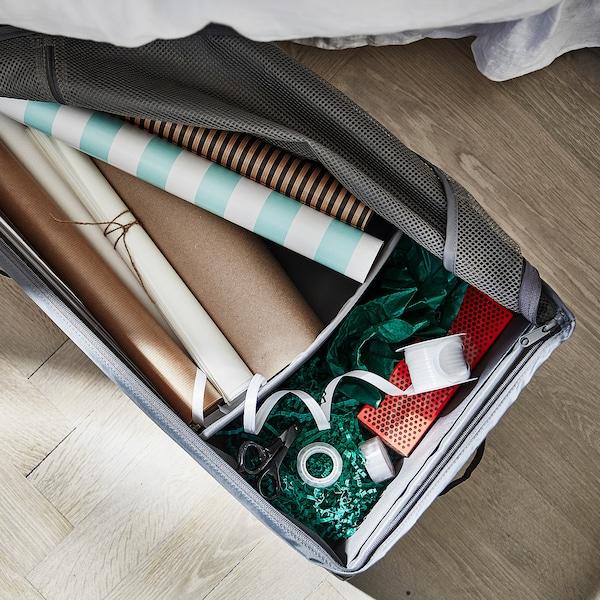 SKUBB Rangement pour papier cadeau - gris foncé - IKEA
