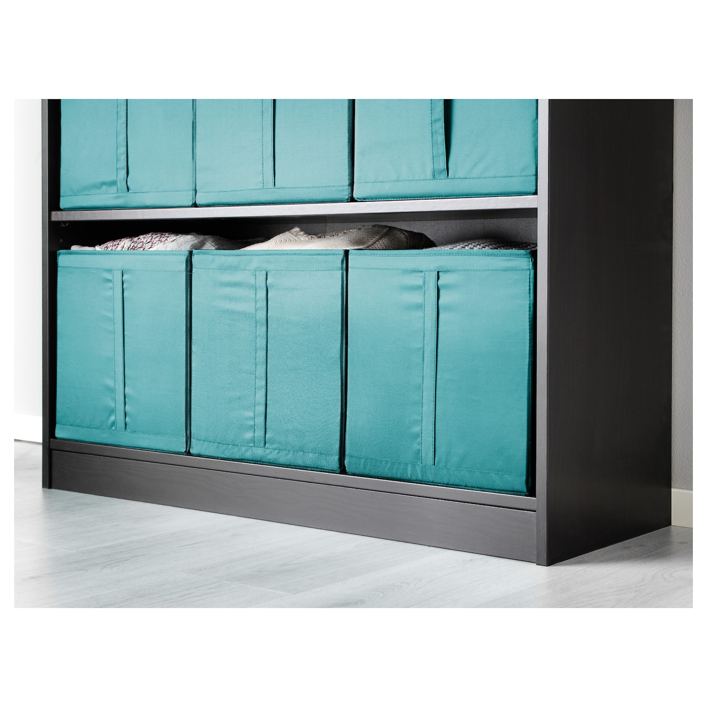 skubb rangement tissu bleu clair 31x34x33 cm ikea. Black Bedroom Furniture Sets. Home Design Ideas