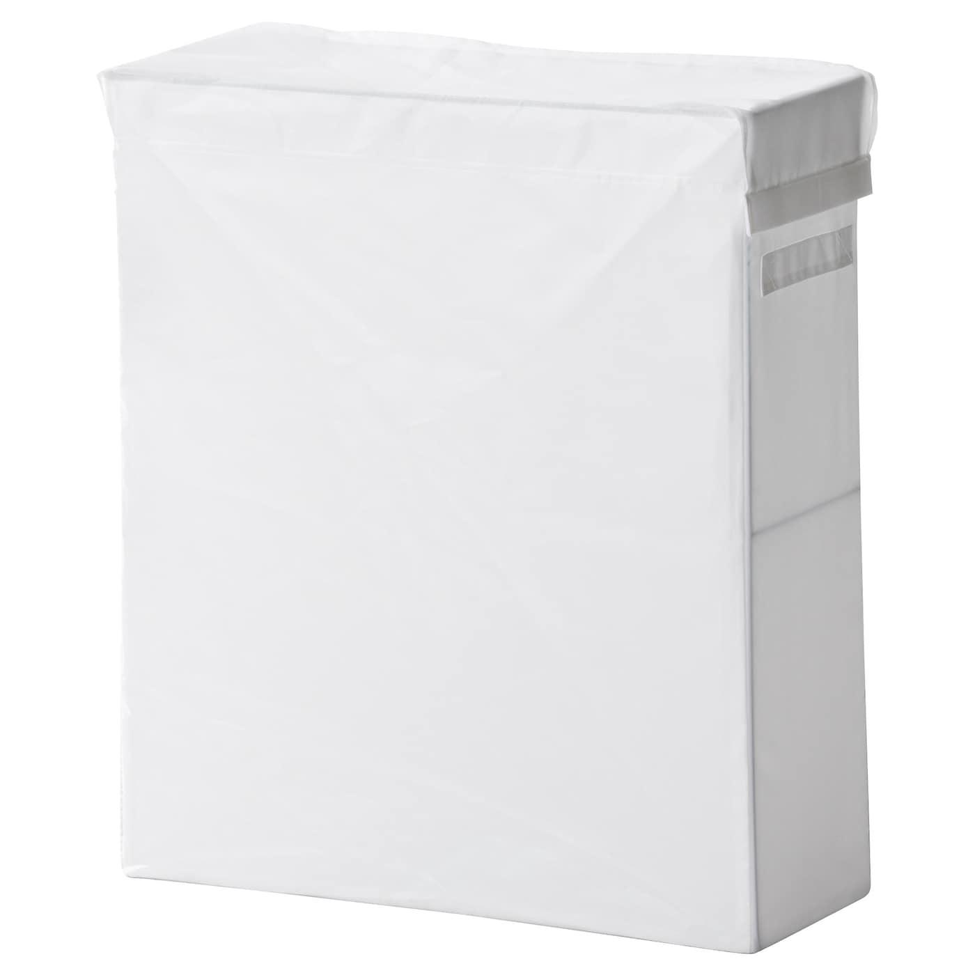 Skubb sac linge et support blanc 80 l ikea for Paniers blancs ikea