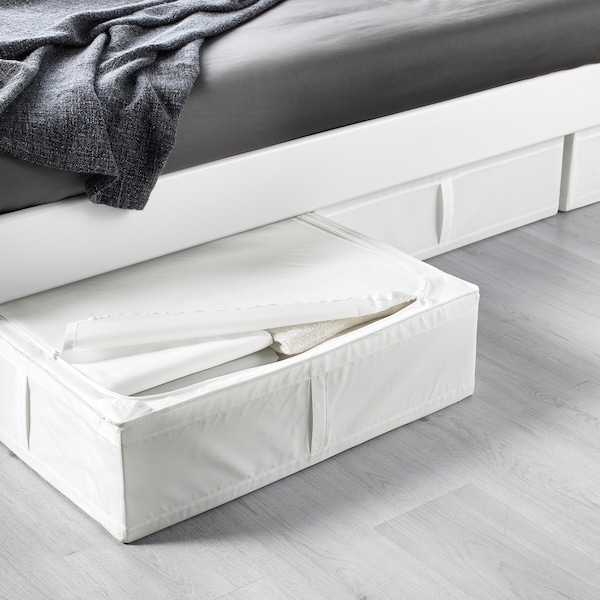 SKUBB Sac de rangement, blanc, 69x55x19 cm