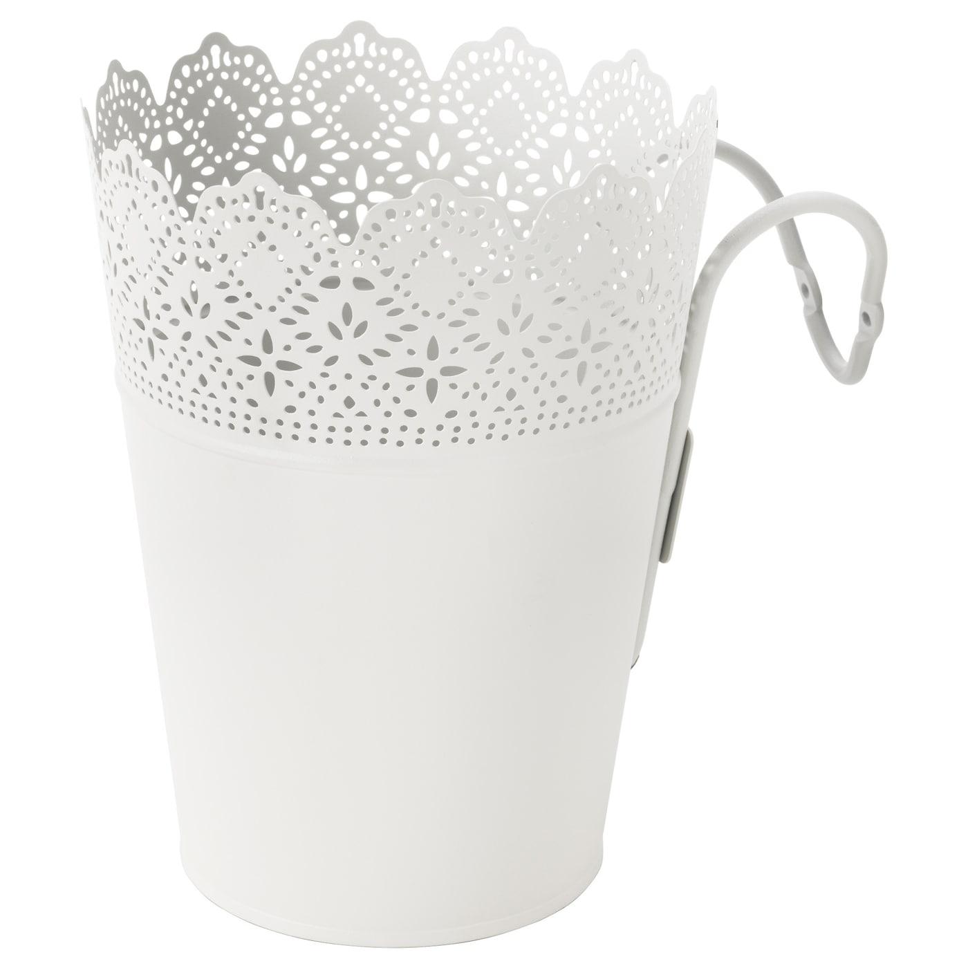 skurar pot avec support int rieur ext rieur blanc 15 cm ikea. Black Bedroom Furniture Sets. Home Design Ideas