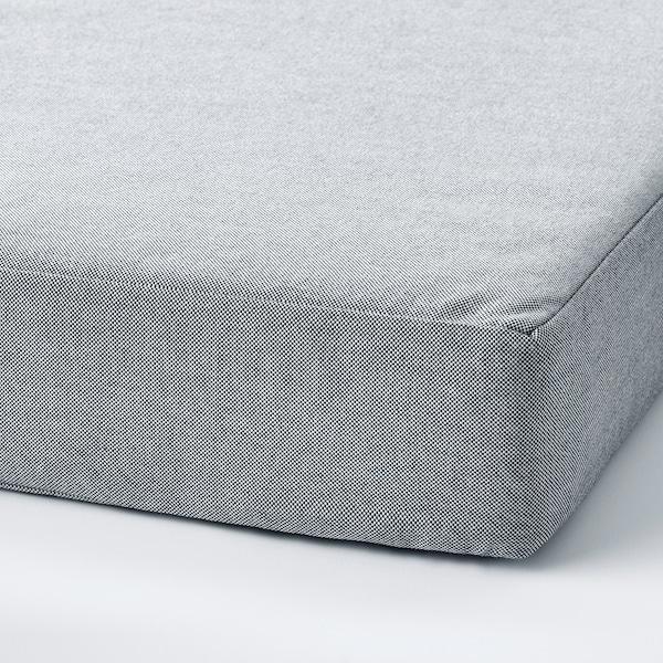 SLÄKT Pouf/matelas, pliable