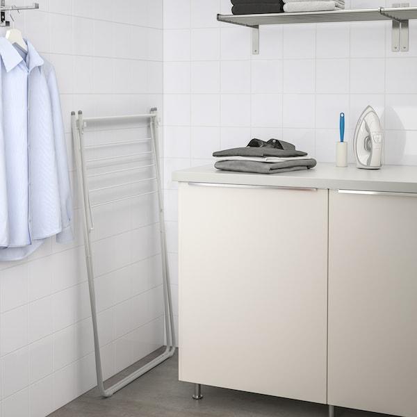 SLIBB Séchoir à linge, gris, 68x45x105 cm