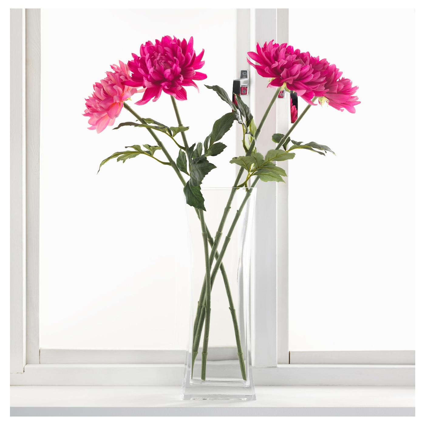 smycka fleur artificielle dahlia rose clair 75 cm ikea. Black Bedroom Furniture Sets. Home Design Ideas