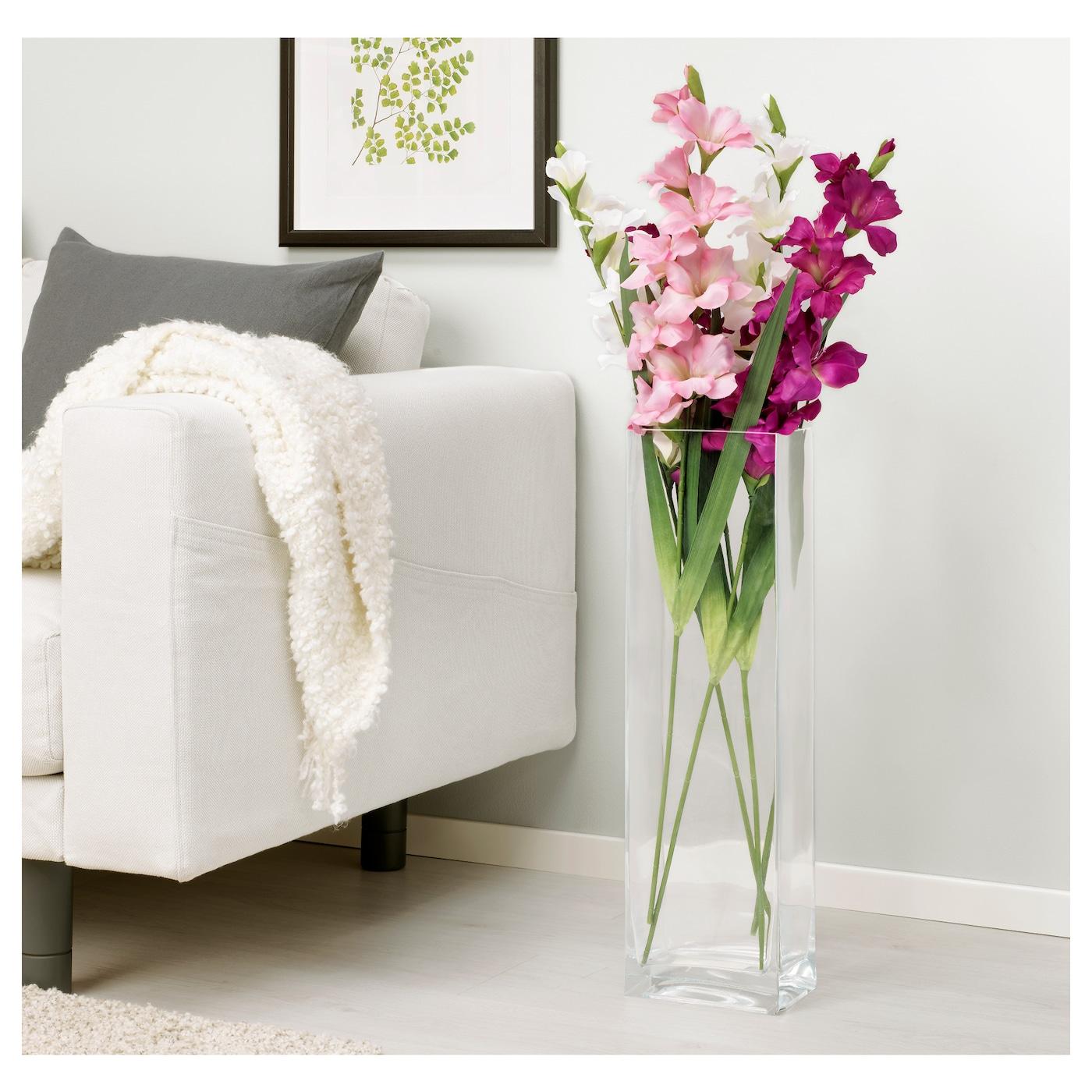 smycka fleur artificielle gla eul blanc 100 cm ikea. Black Bedroom Furniture Sets. Home Design Ideas