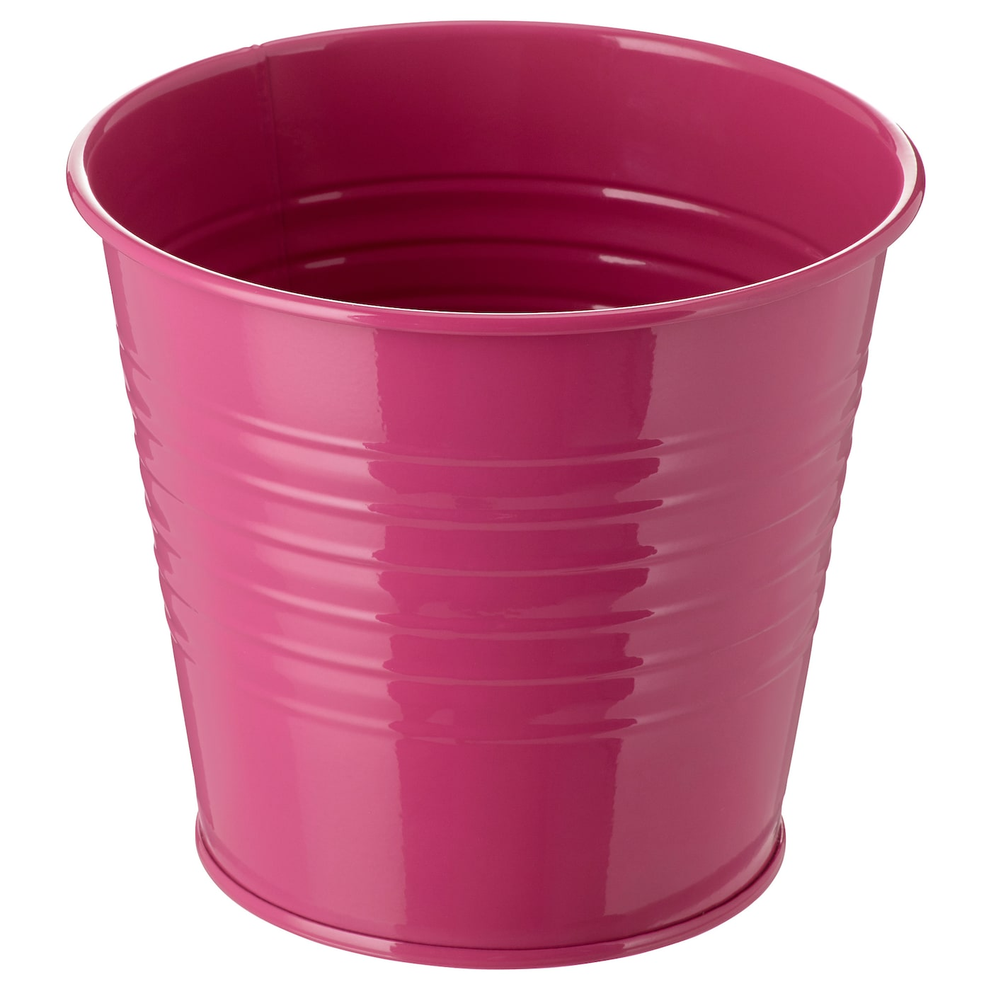 Socker cache pot int rieur ext rieur rose 12 cm ikea for Cache pot exterieur
