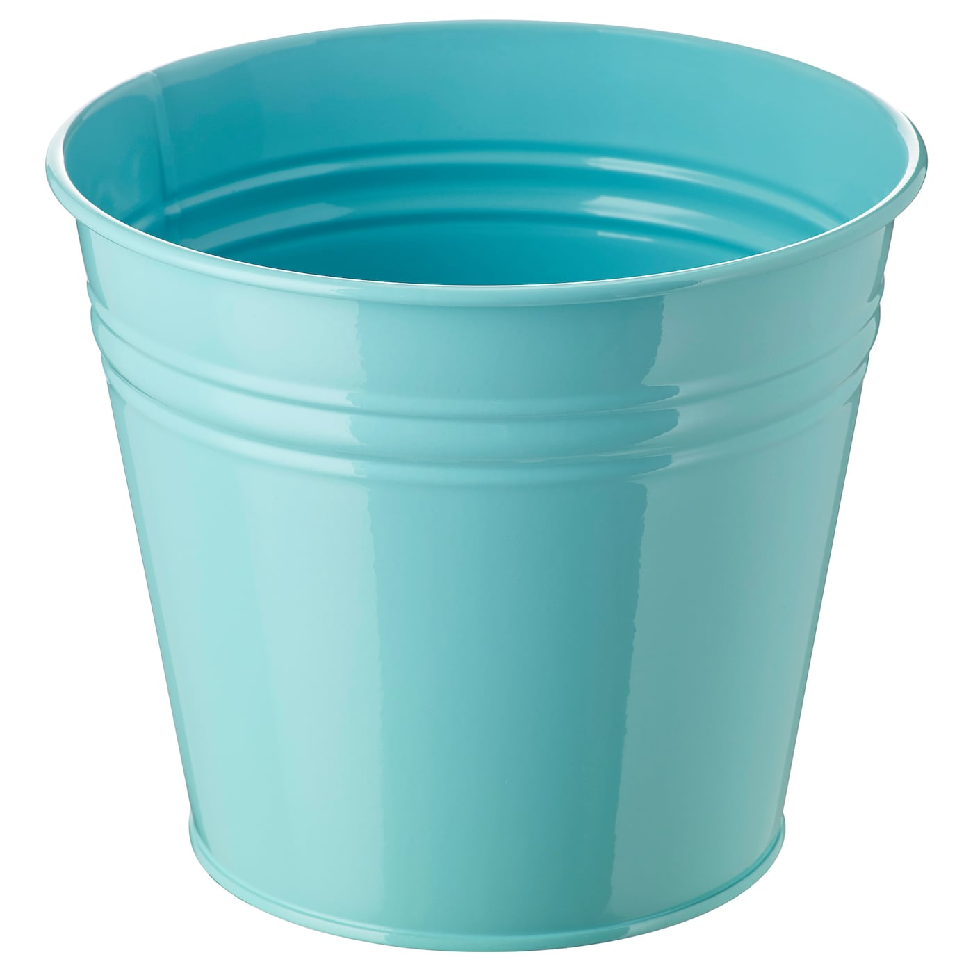 Socker cache pot int rieur ext rieur turquoise 15 cm ikea for Cache pot exterieur