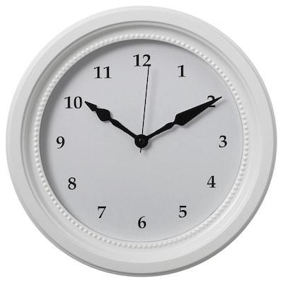 SÖNDRUM Horloge murale, blanc