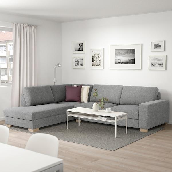 SÖRVALLEN canapé d'angle, 4 places sans accoudoir à gauche/Lejde gris/noir 88 cm 232 cm 313 cm 232 cm 7 cm 21 cm 58 cm 61 cm 192 cm 45 cm