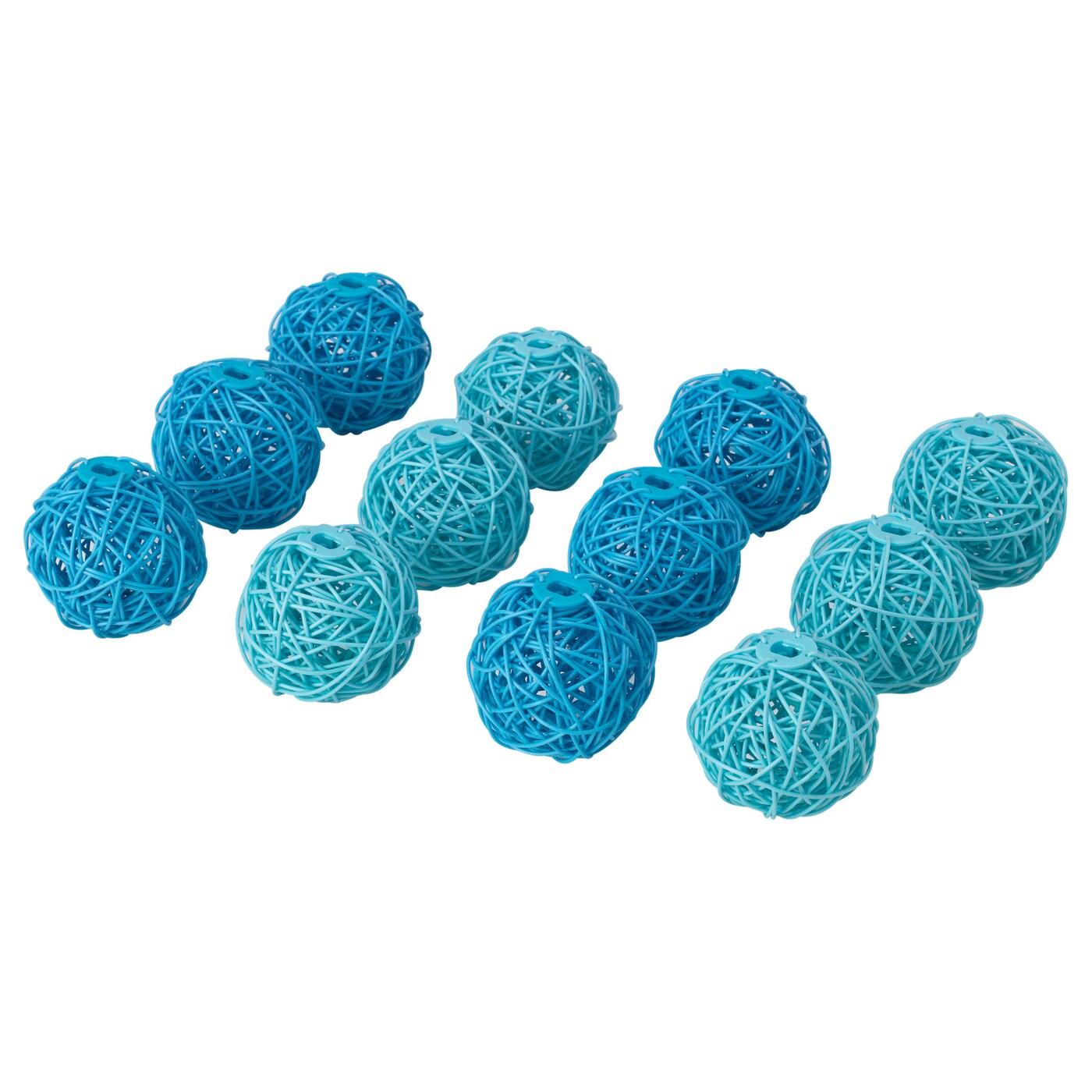 solvinden d co guirlande lumineuse bleu turquoise ikea. Black Bedroom Furniture Sets. Home Design Ideas