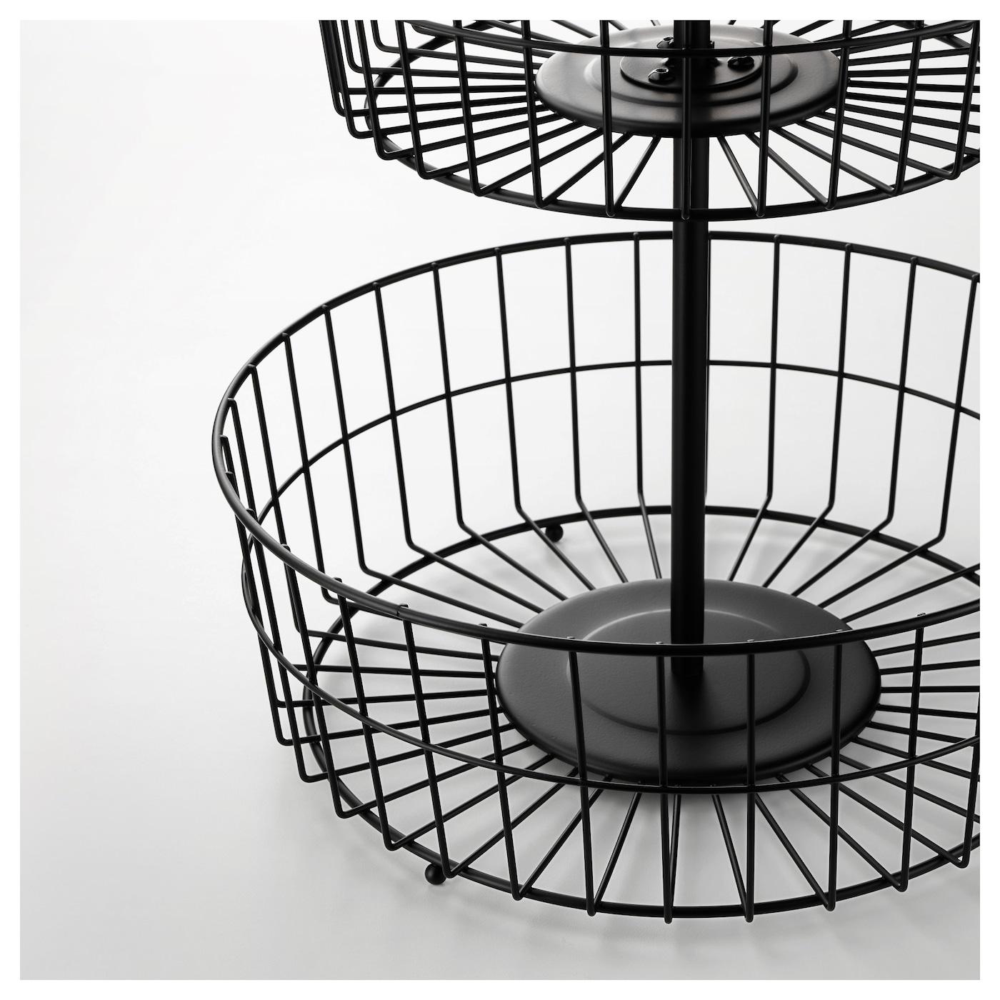 sommar 2018 tag re 3 corbeilles noir ikea. Black Bedroom Furniture Sets. Home Design Ideas
