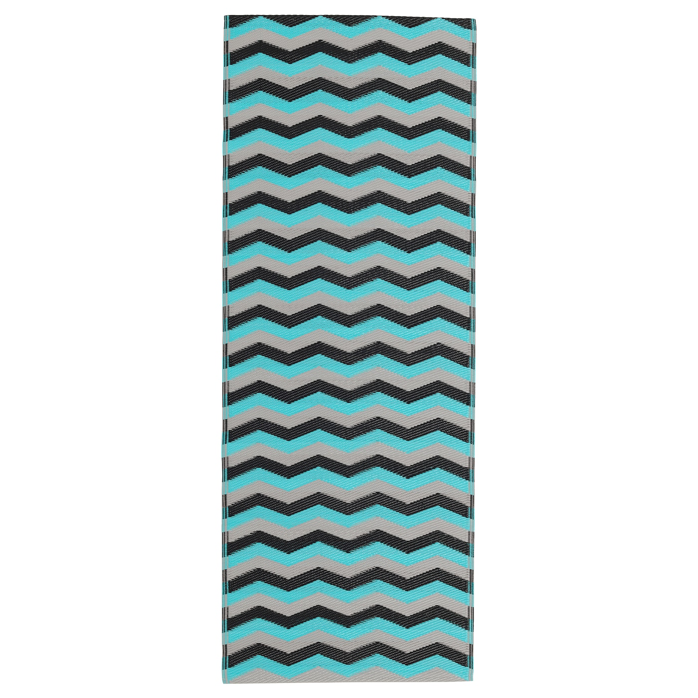sommar 2018 tapis tiss plat int ext rieur turquoise 75x200 cm ikea. Black Bedroom Furniture Sets. Home Design Ideas