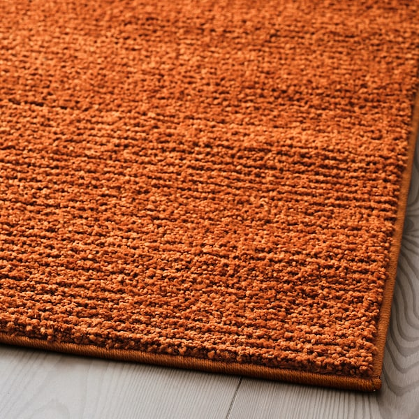 SPORUP Tapis, poils ras, brun, 170x240 cm