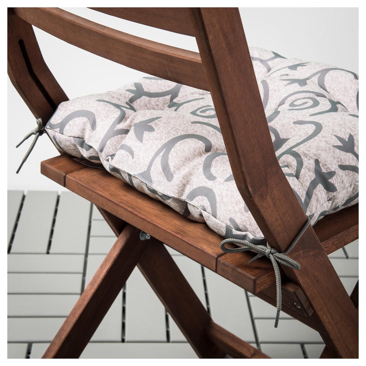steg n coussin de chaise ext rieur beige 40x40 cm ikea. Black Bedroom Furniture Sets. Home Design Ideas