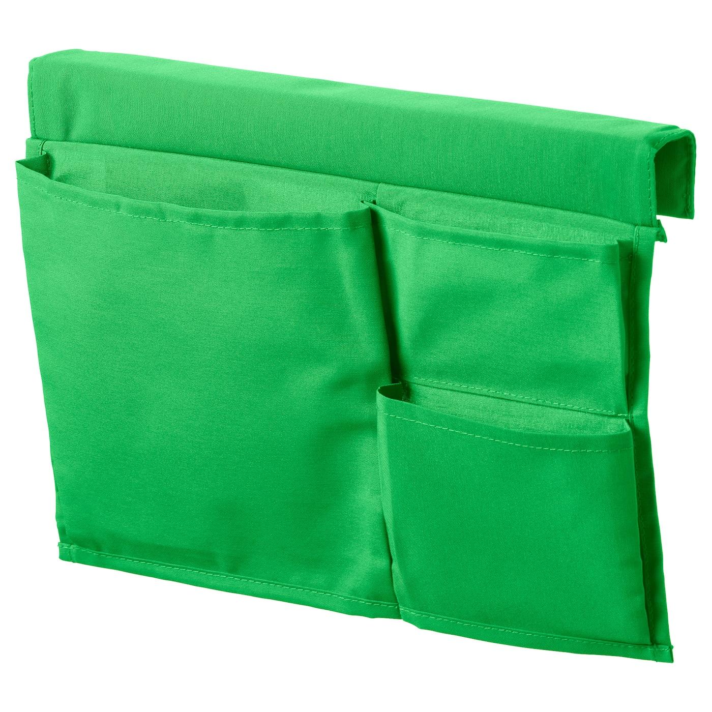 stickat poche rangement pour lit vert 39 x 30 cm ikea. Black Bedroom Furniture Sets. Home Design Ideas