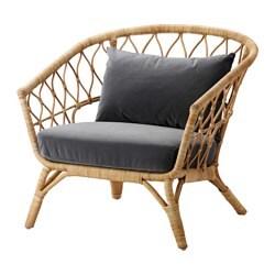Fauteuil rotin Chaise en rotin IKEA
