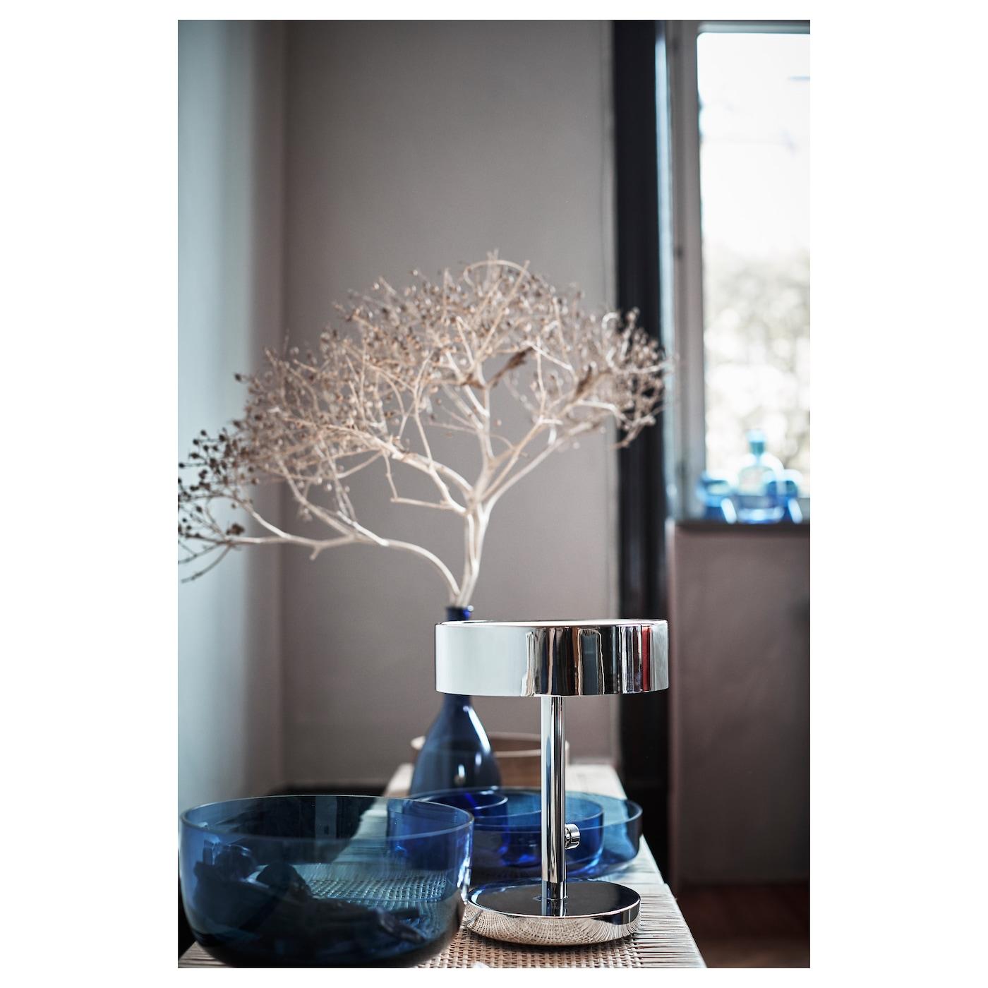 stockholm 2017 lampe de table chrom ikea. Black Bedroom Furniture Sets. Home Design Ideas