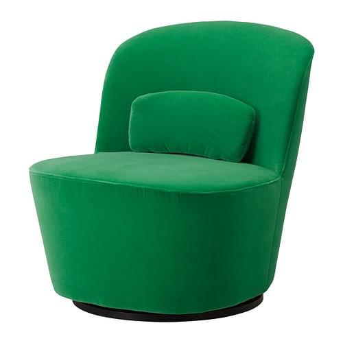 Stockholm fauteuil pivotant sandbacka vert ikea - Ikea fauteuil pivotant ...