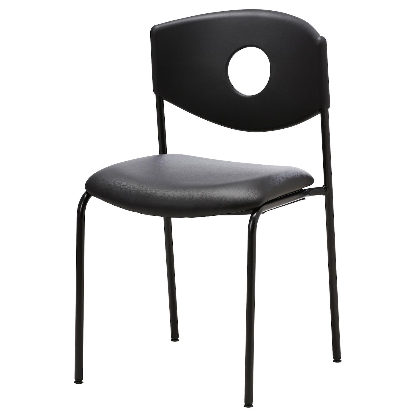 stoljan chaise conf rence noir noir ikea. Black Bedroom Furniture Sets. Home Design Ideas