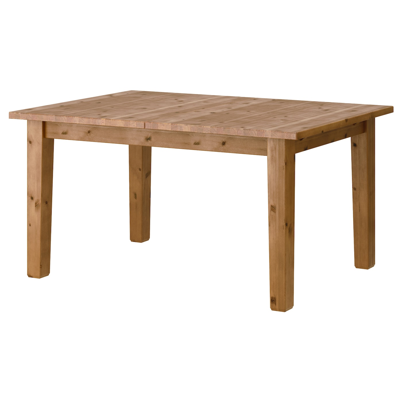 storn s table extensible vernis effet anc 147 204x95 cm ikea. Black Bedroom Furniture Sets. Home Design Ideas