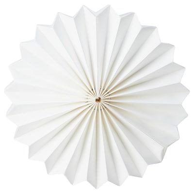 STRÅLA Abat-jour, origami/blanc, 34 cm