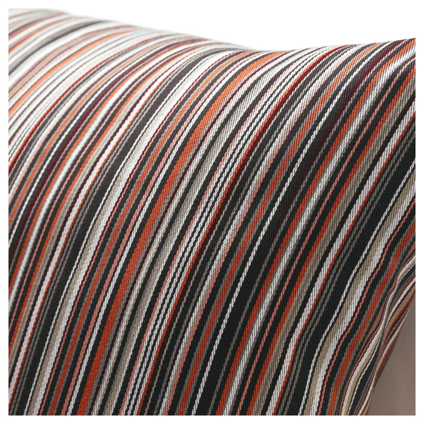 strandk l housse de coussin orange rouge 40x65 cm ikea. Black Bedroom Furniture Sets. Home Design Ideas