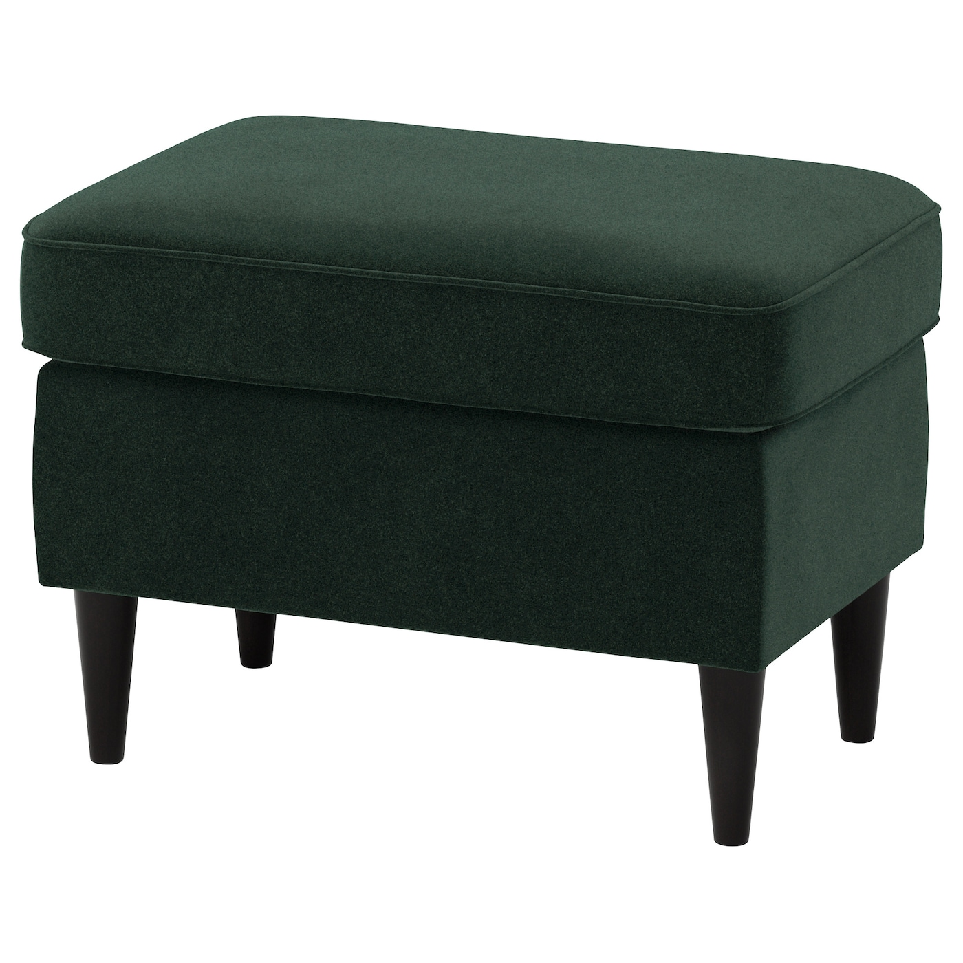 strandmon repose pieds djuparp vert fonc ikea. Black Bedroom Furniture Sets. Home Design Ideas