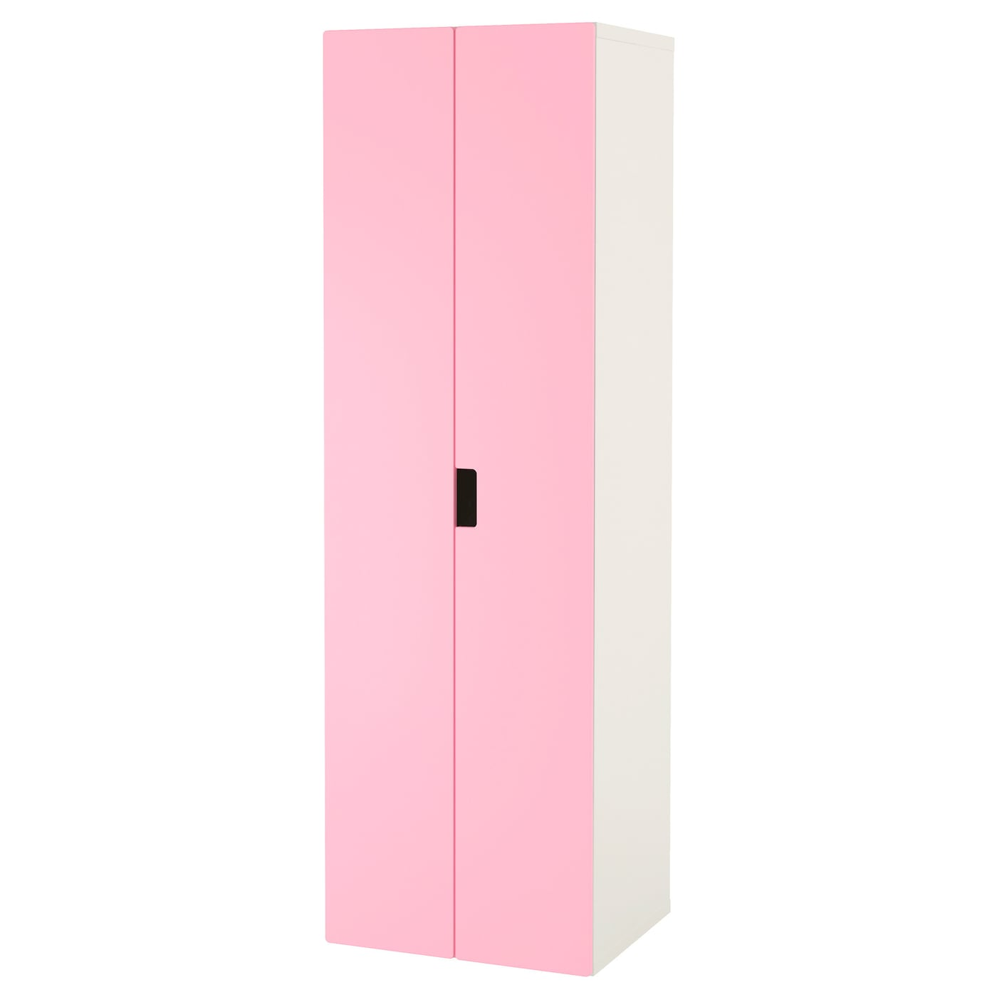 stuva armoire penderie blanc rose 60x50x192 cm ikea. Black Bedroom Furniture Sets. Home Design Ideas