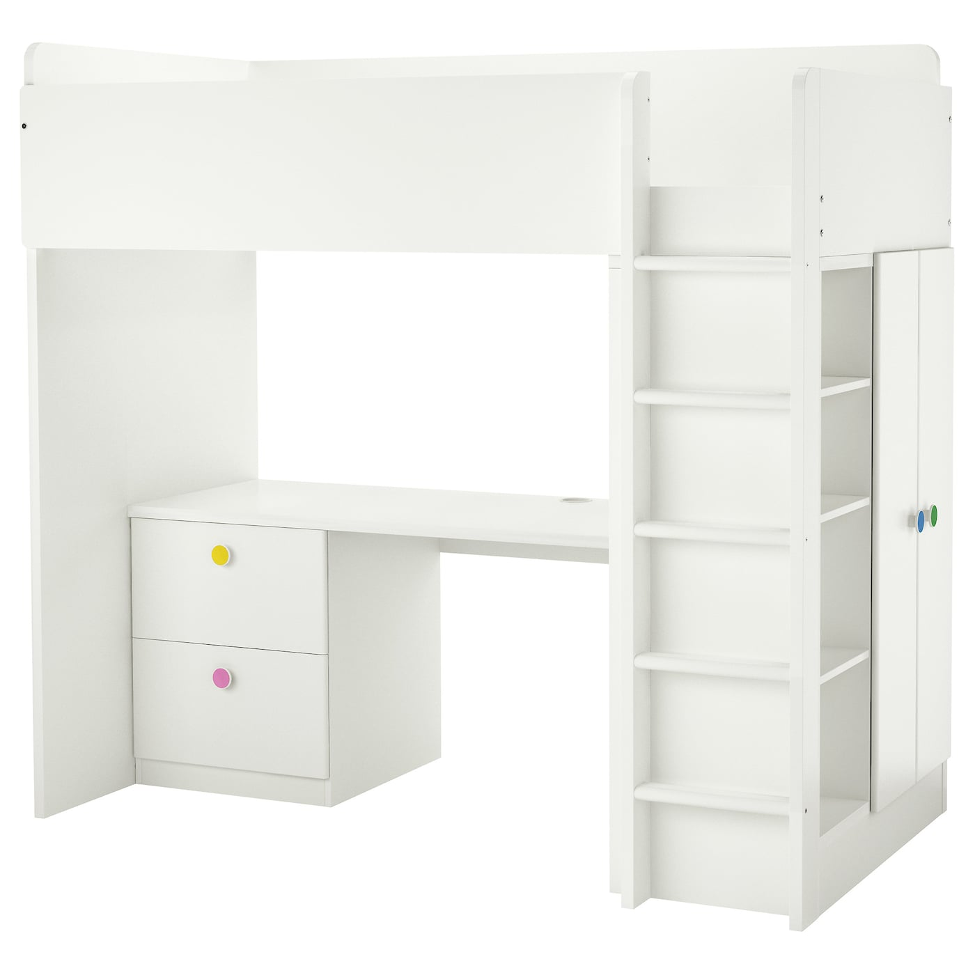 stuva f lja combi lit mezza 2 tiroirs 2 portes blanc 207x99x193 cm ikea. Black Bedroom Furniture Sets. Home Design Ideas