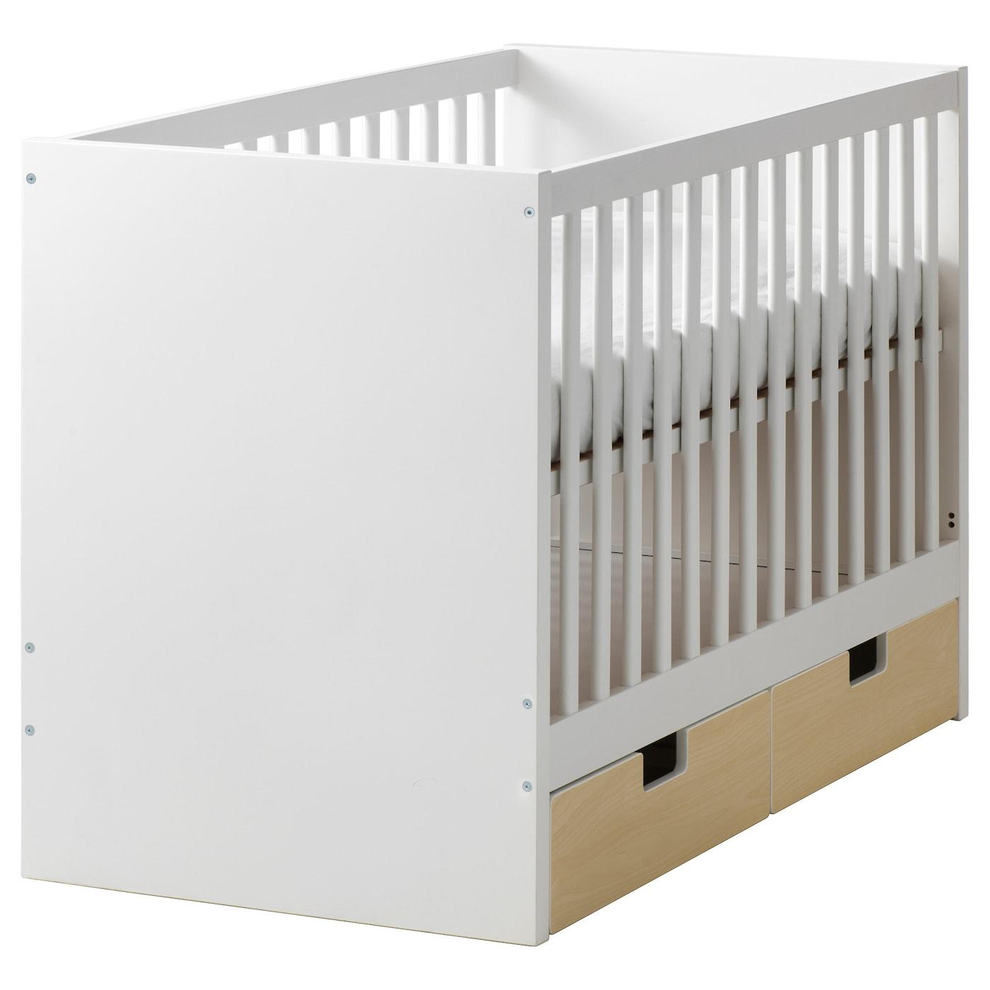 stuva lit enfant tiroirs bouleau 60x120 cm ikea. Black Bedroom Furniture Sets. Home Design Ideas