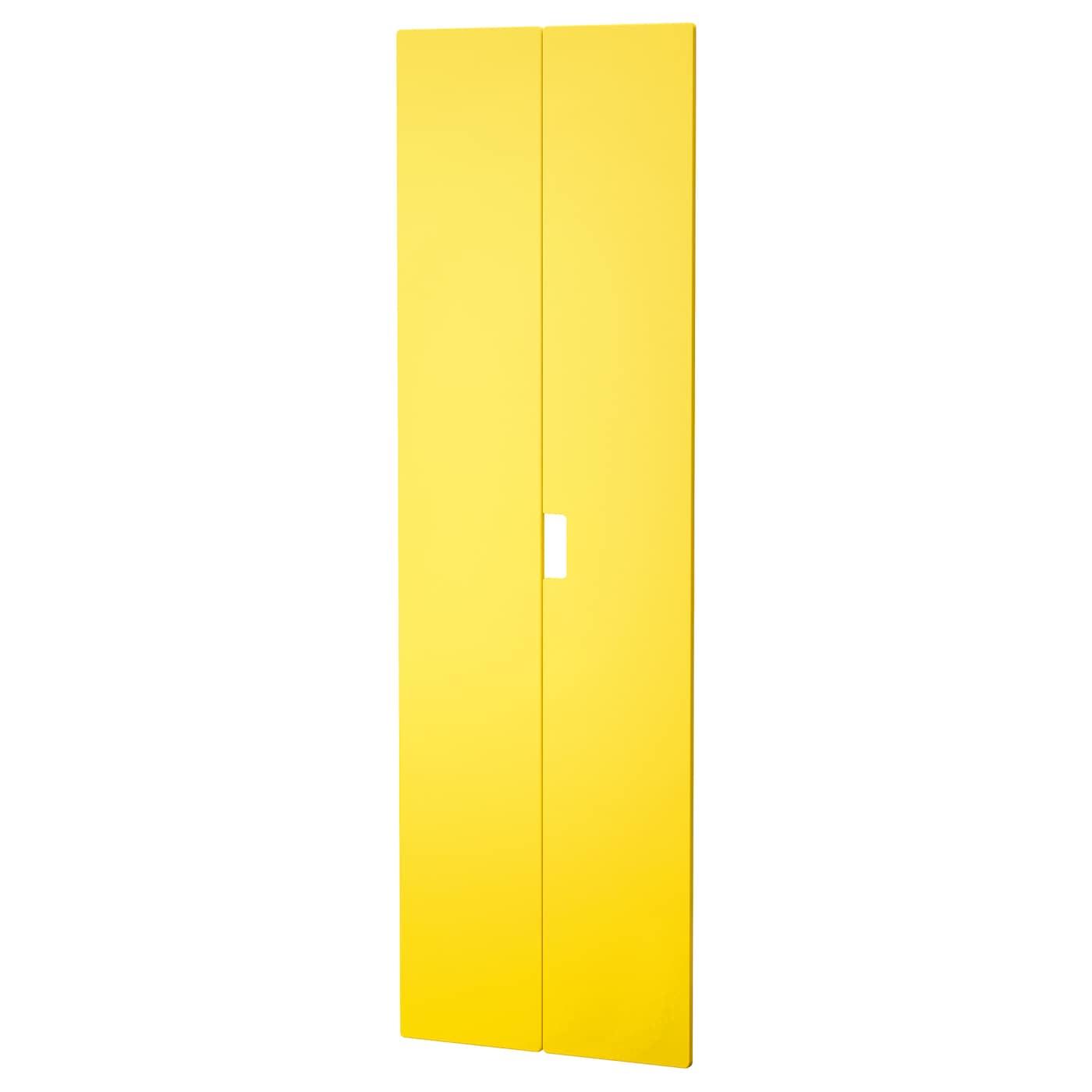 stuva m lad porte jaune 60x192 cm ikea. Black Bedroom Furniture Sets. Home Design Ideas