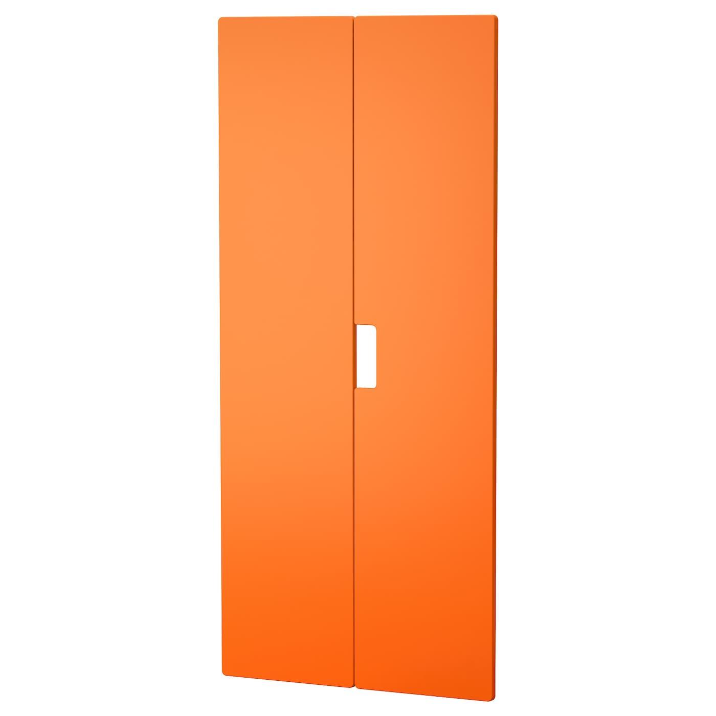 stuva m lad porte orange 60x128 cm ikea. Black Bedroom Furniture Sets. Home Design Ideas