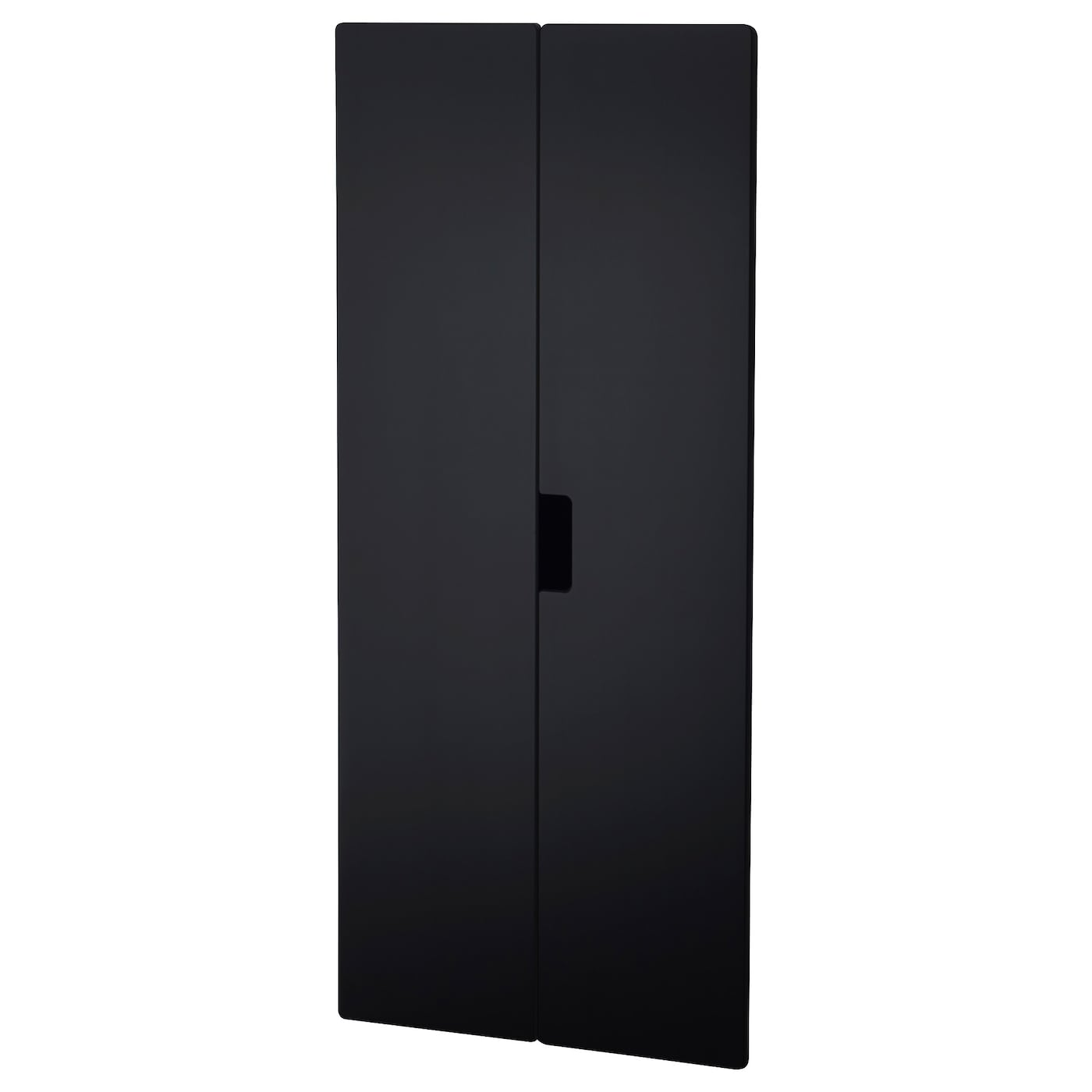 stuva m lad porte surface tableau noir 60x128 cm ikea. Black Bedroom Furniture Sets. Home Design Ideas