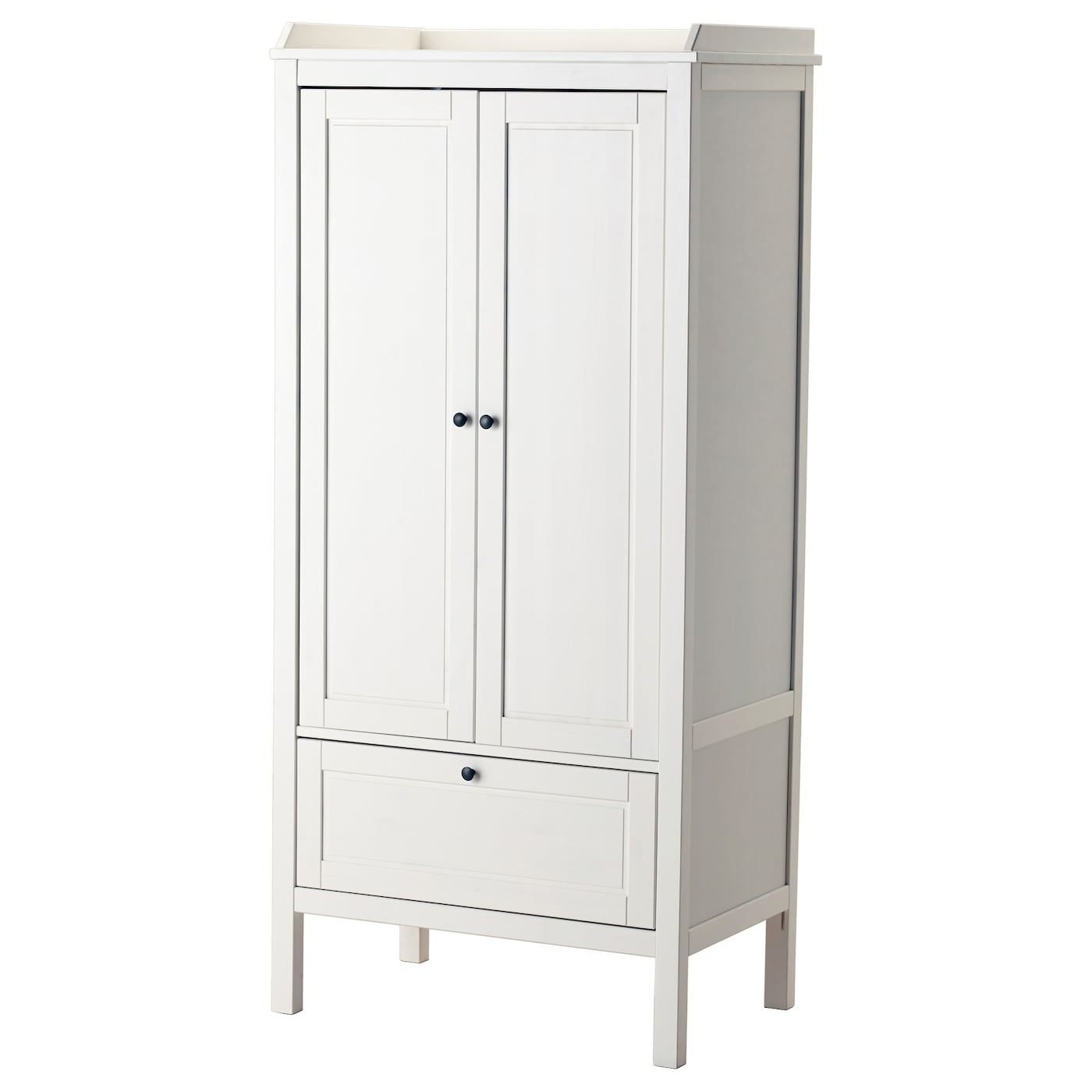 sundvik armoire blanc 80x50x171 cm ikea. Black Bedroom Furniture Sets. Home Design Ideas
