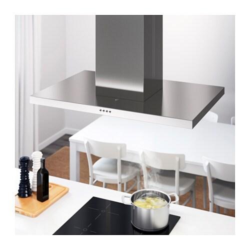 Svvande Hotte Aspirante Plafond Acier Inoxydable  Cm  Ikea
