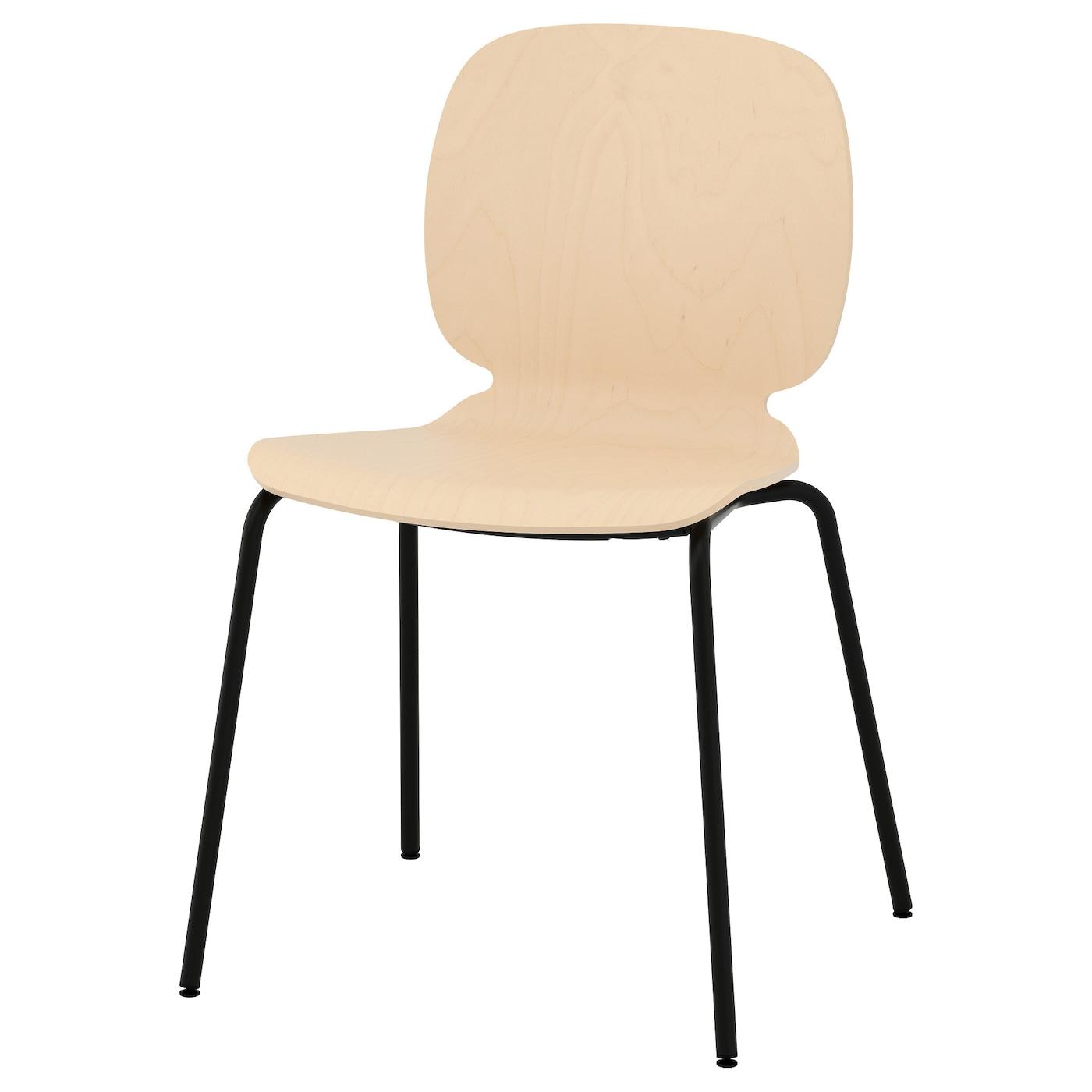 svenbertil chaise bouleau broringe noir ikea. Black Bedroom Furniture Sets. Home Design Ideas