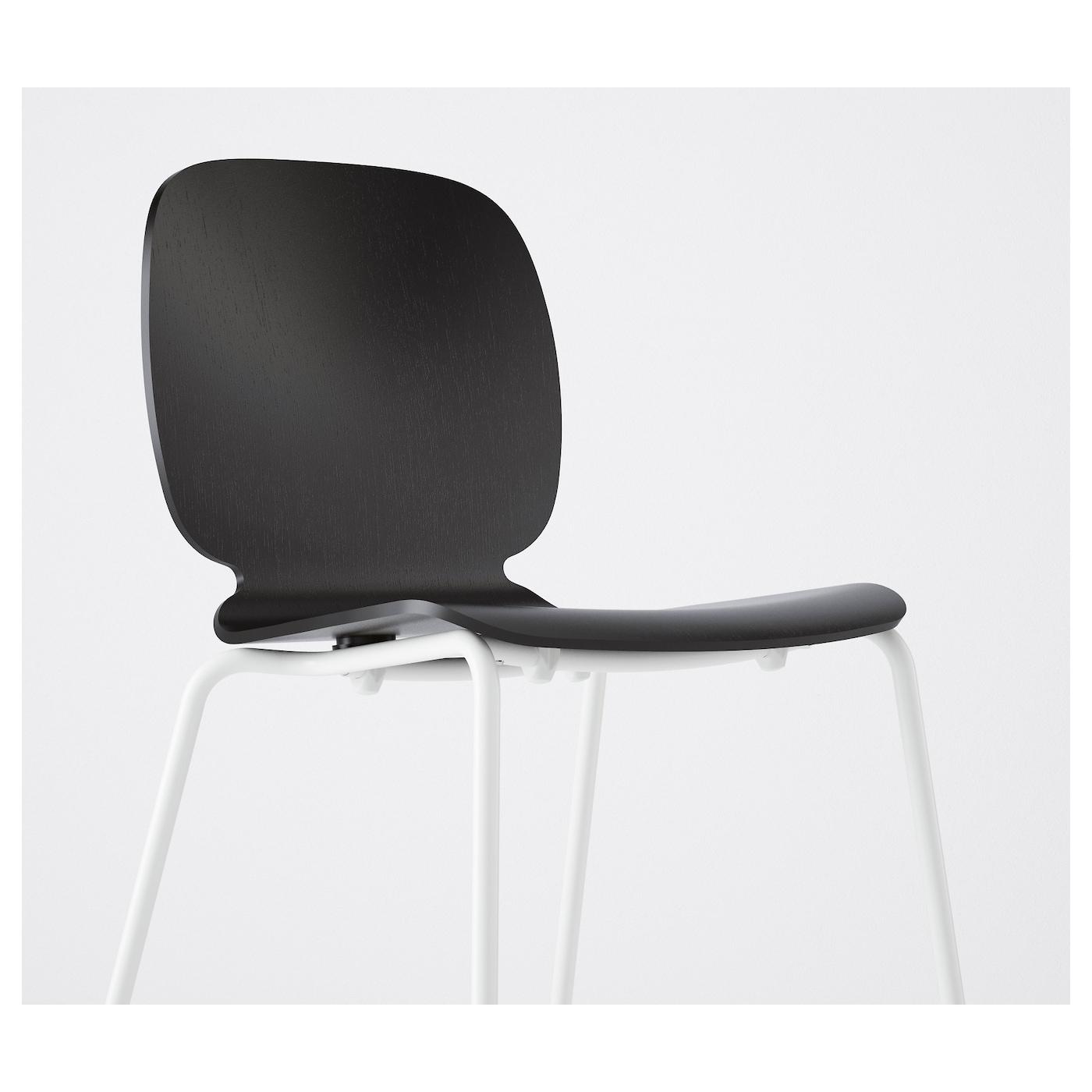 svenbertil chaise noir broringe blanc ikea. Black Bedroom Furniture Sets. Home Design Ideas