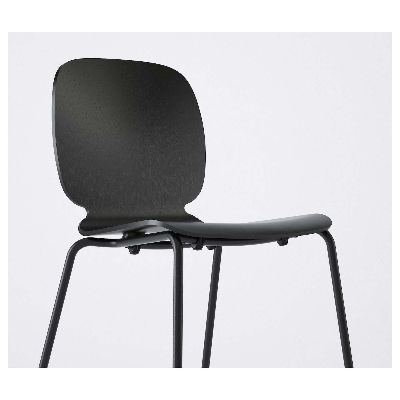 svenbertil chaise noir broringe noir ikea. Black Bedroom Furniture Sets. Home Design Ideas