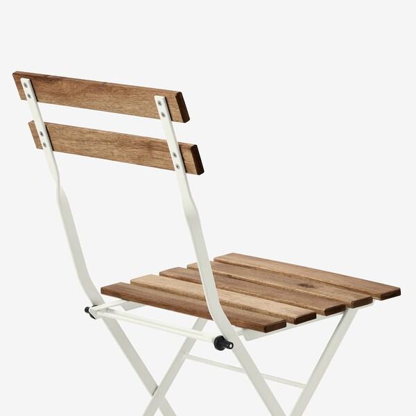 TÄRNÖ chaise, extérieur pliable/blanc teinté brun clair 110 kg 39 cm 40 cm 79 cm 39 cm 28 cm 45 cm