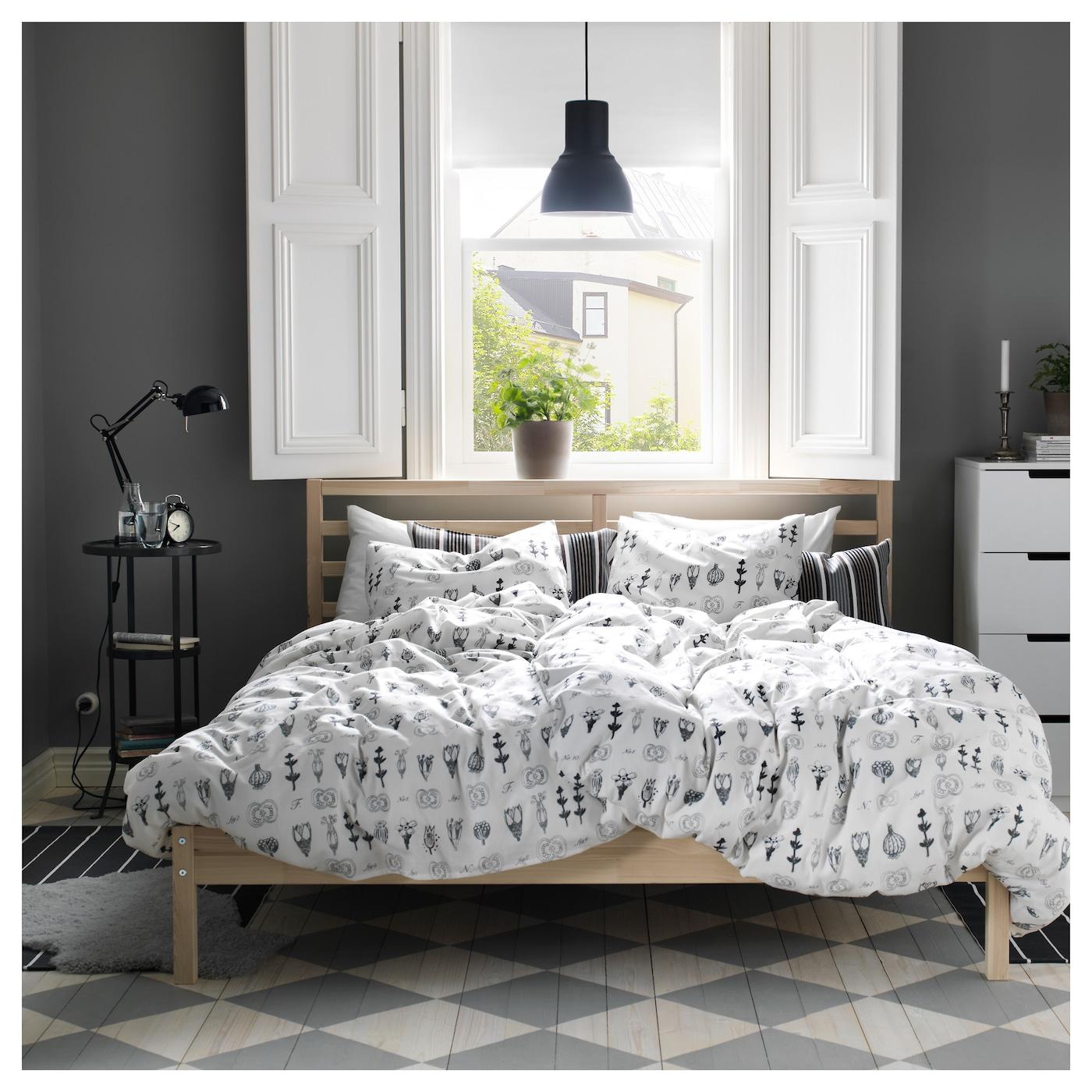 tarva cadre de lit pin 140x200 cm ikea. Black Bedroom Furniture Sets. Home Design Ideas