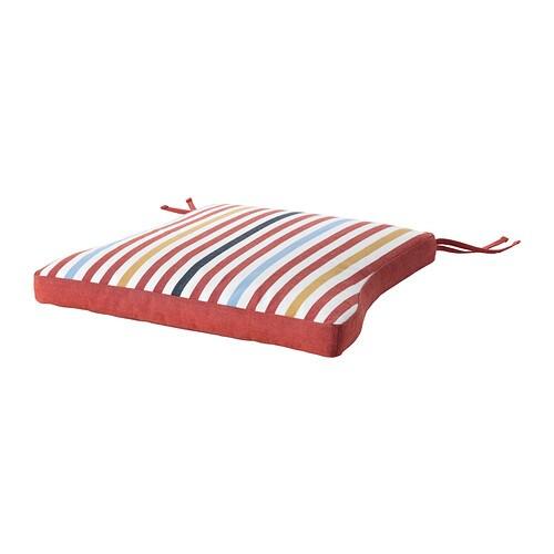 T singe coussin de chaise ext rieur rouge ikea for Coussin chaise exterieur