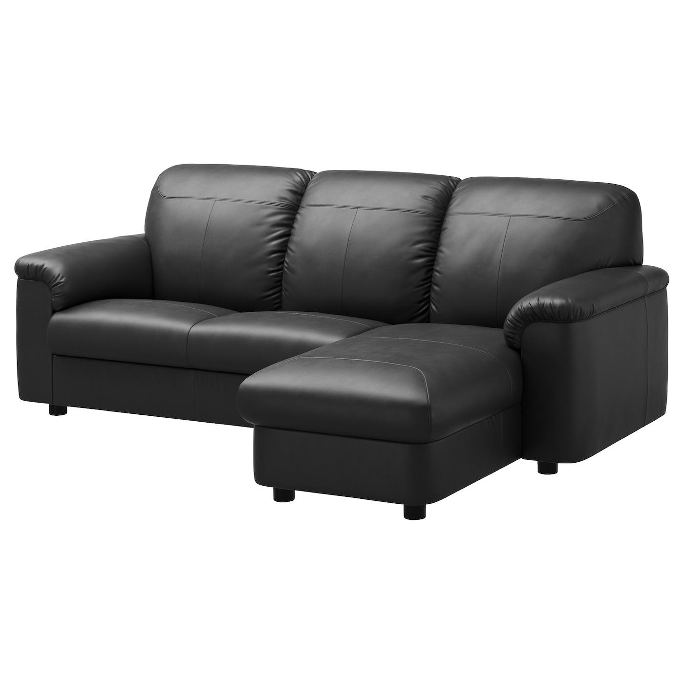 timsfors canap 2 places m ridienne mjuk kimstad noir ikea. Black Bedroom Furniture Sets. Home Design Ideas