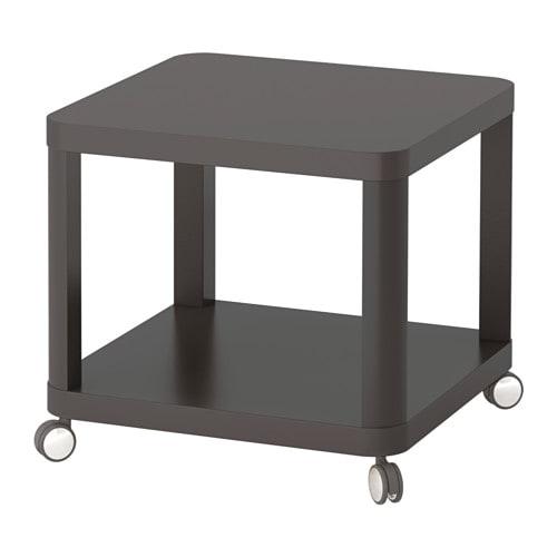 Tingby Desserte Roulante Gris 50 X 50 Cm Ikea