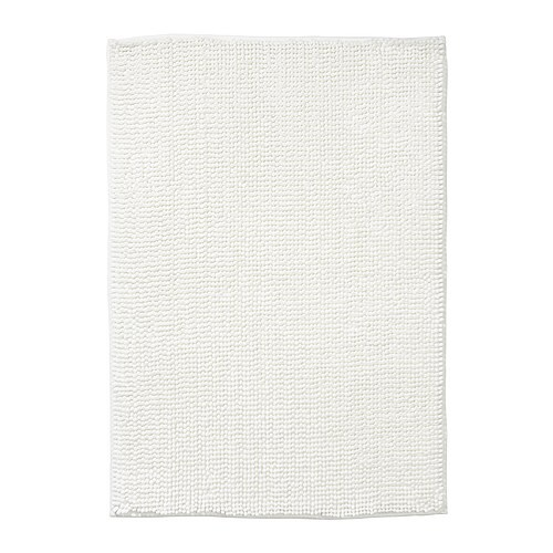 toftbo tapis de bain blanc 60x90 cm ikea. Black Bedroom Furniture Sets. Home Design Ideas
