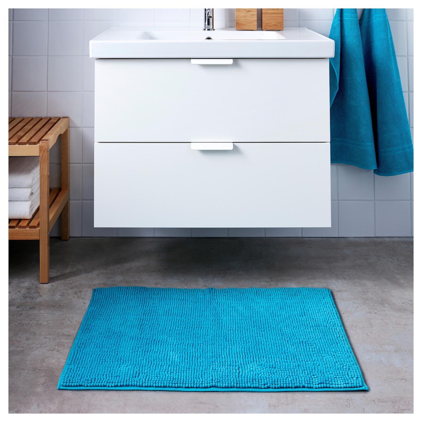 toftbo tapis de bain turquoise 60x90 cm ikea. Black Bedroom Furniture Sets. Home Design Ideas
