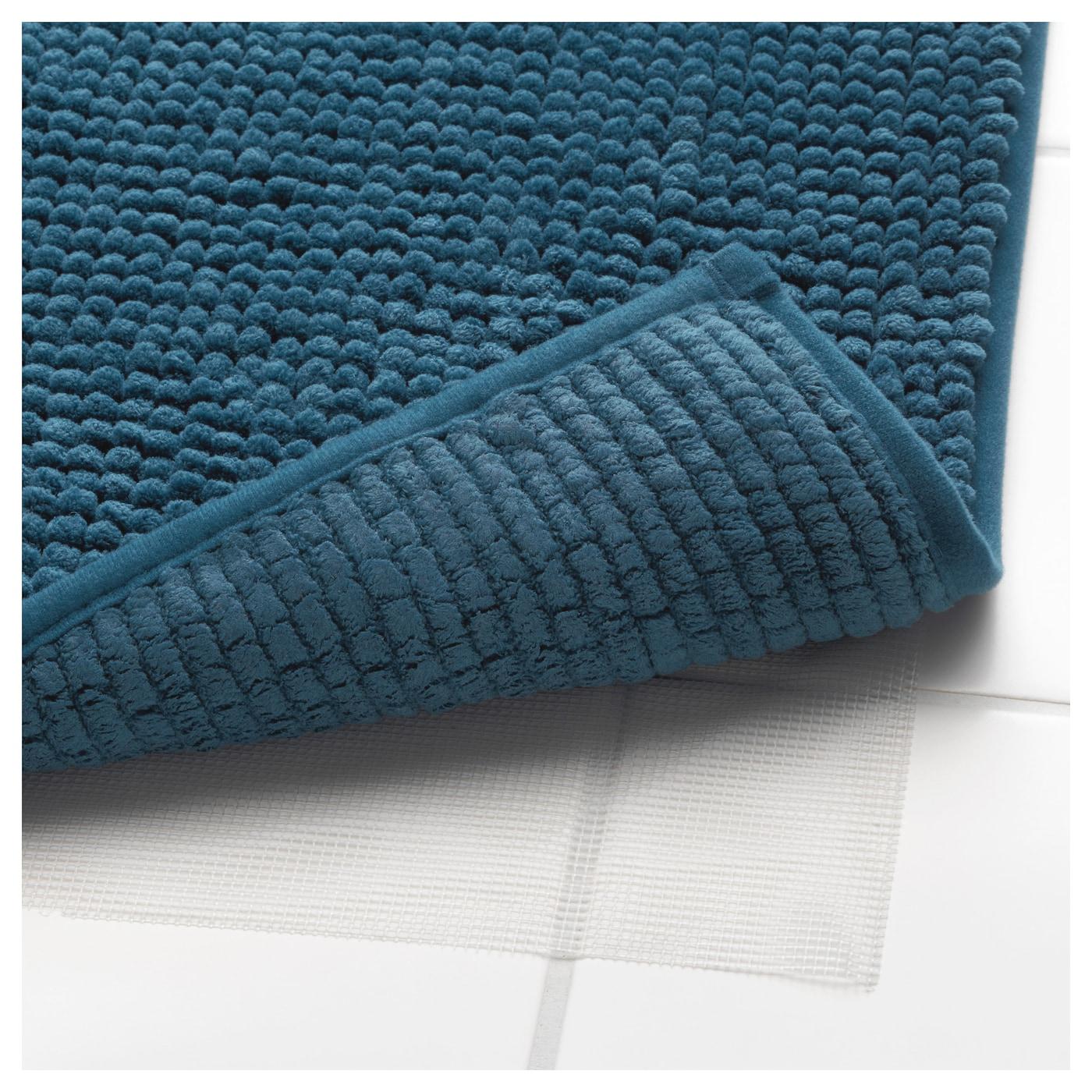 toftbo tapis de bain vert bleu 60 x 90 cm ikea. Black Bedroom Furniture Sets. Home Design Ideas