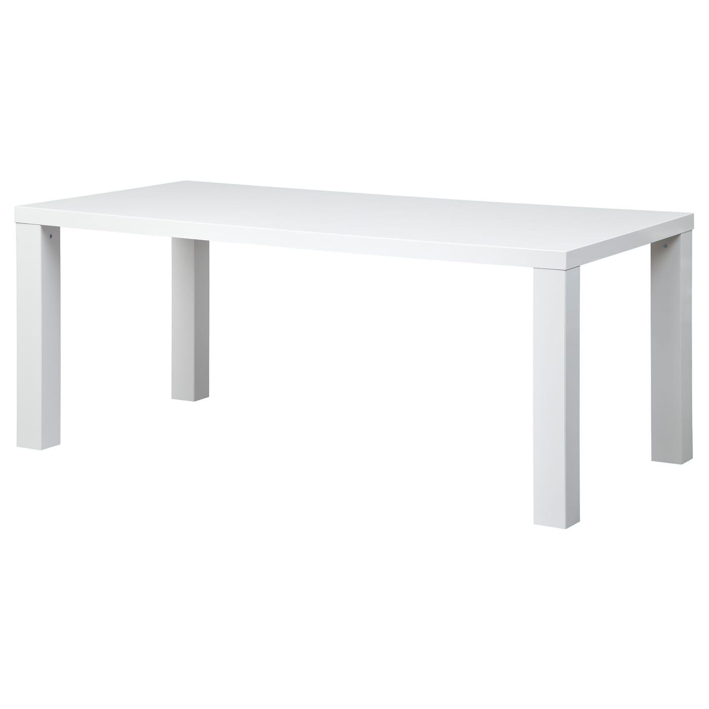 Toresund table blanc brillant 180x90 cm ikea - Ikea mesa lack blanca ...